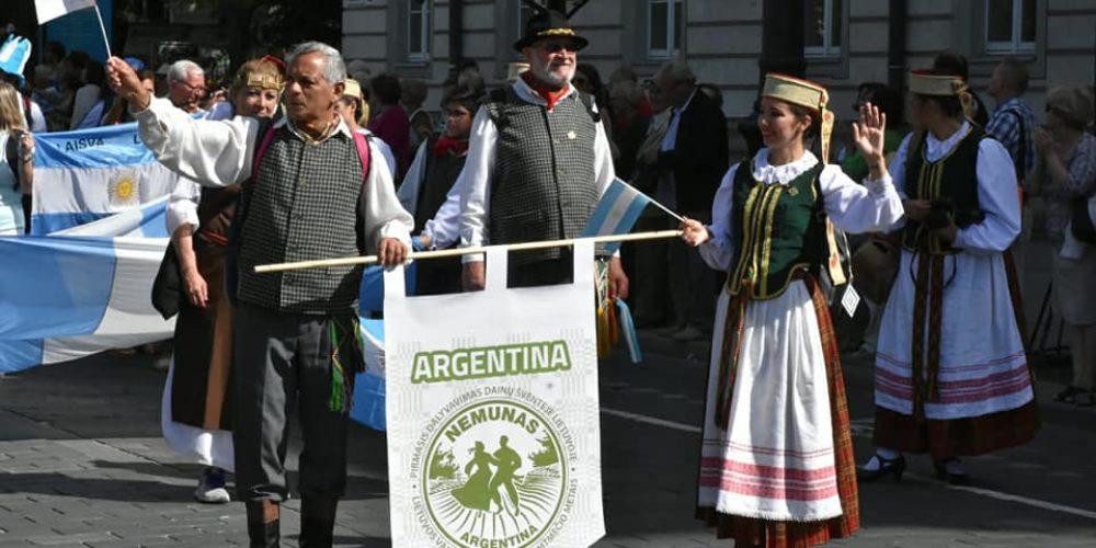 Desfile de Cierre de la Dainų Šventė3